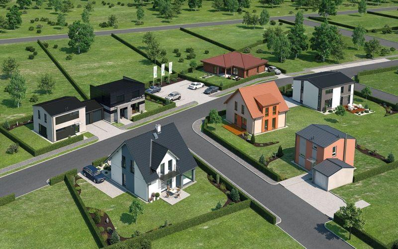 centrum vzorových domů